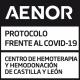 AENOR otorga al CeAENOR otorga el Certificado de protocolos de actuación frente a la COVID-19
